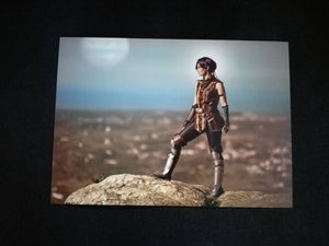 Star wars Satele Shan cosplay print