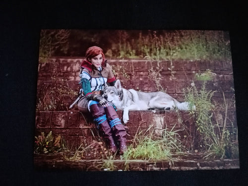 Witcher Triss cosplay print 5x8in - Geek And Artsy