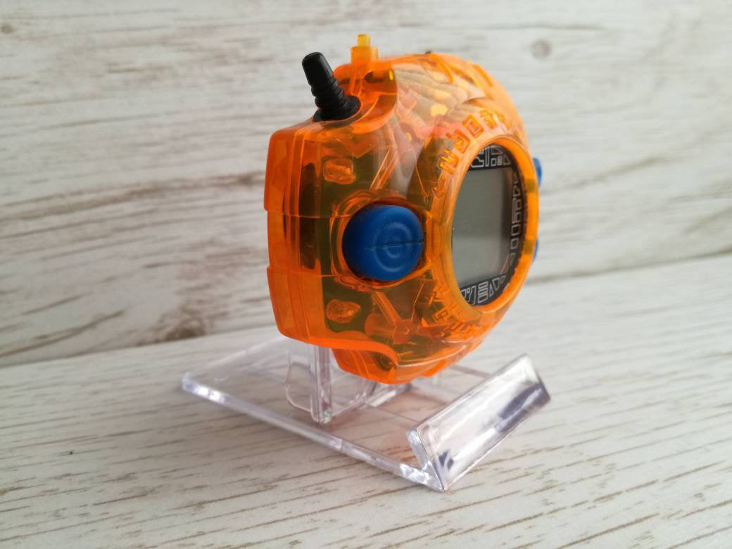Digimon digivice display stand- adventure, 02, tamers and frontier - Geek And Artsy