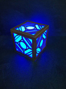 Star wars holocron cosplay prop, jedi nightlight - Geek And Artsy