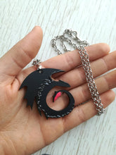 Toothless, how to train your dragon, nightfury pendant, dragon necklace - Geek And Artsy