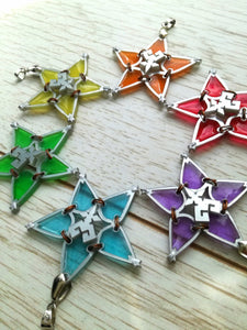 Kingdom hearts wayfinder necklace, friendship necklace - Geek And Artsy