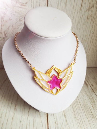 star guardian lux symbol necklace