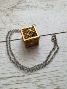 Star wars jedi holocron pendant - Geek And Artsy
