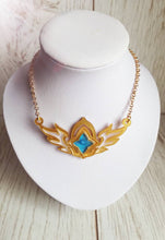 League of legends star guardians symbol pendant-second wave. Ahri necklace, winged pendant. - Geek And Artsy
