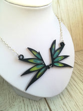necklace with the witch wings