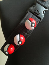 Pokemon trainer bandolier with pokeballs, pokemon cosplay belt - Geek And Artsy