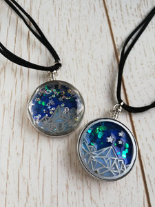 ACOTAR night court necklace - Geek And Artsy
