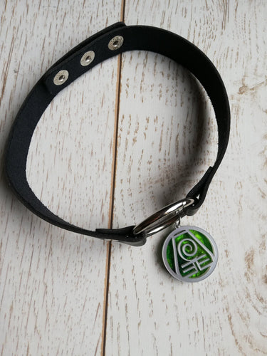 earth kingdom necklace, avatar last airbender choker - Geek And Artsy