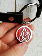 fire nation necklace, avatar last airbender choker - Geek And Artsy