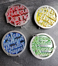 hogwarts houses pocket mirrors