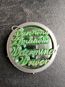 slytherin pocket mirror