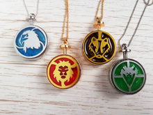 Gryffindor lion necklace, harry potter necklace - Geek And Artsy
