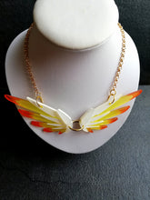 Overwatch mercy wings necklace, mercy necklace, hinged wings necklace - Geek And Artsy