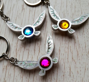 legend of zelda fairies keychains