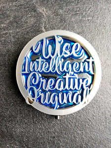 Ravenclaw pocket mirror, harry potter inspired makeup mirror - Geek And Artsy
