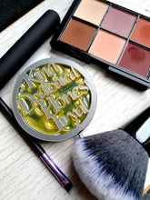 Hufflepuff pocket mirror, harry potter inspired makeup mirror - Geek And Artsy