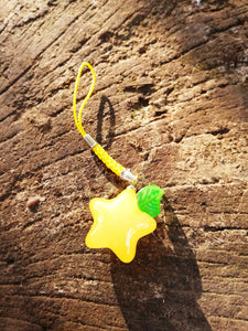 Kingdom hearts paopu fruit charm dangler - Geek And Artsy