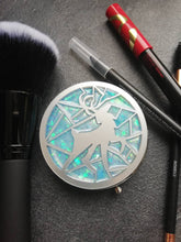 harry potter inspired patronus makeup mirror - Geek And Artsy