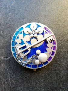 Kingdom Hearts Kingdom Key pocket mirror - Geek And Artsy