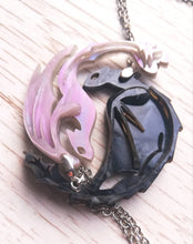 Nightfury lightfury friendship pendant - Geek And Artsy