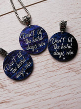 """Dont let the hard days win"" ACOTAR necklace - Geek And Artsy"