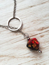 D20 pendulum necklace - Geek And Artsy
