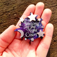 """i belong to the Night Court"" ACOTAR pin - Geek And Artsy"