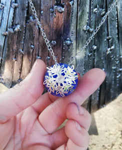 Dragon egg pendant with metal filigree detailing - Geek And Artsy
