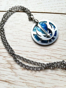 Star wars jedi order symbol pendant, jedi crest pin - Geek And Artsy