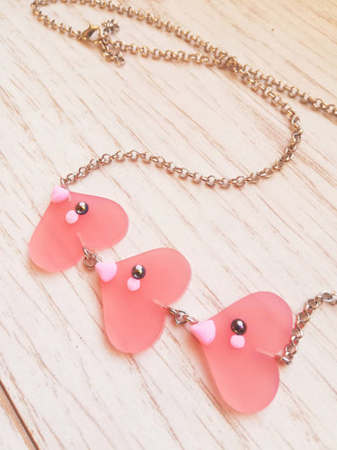 Luvdisc pokemon necklace - Geek And Artsy