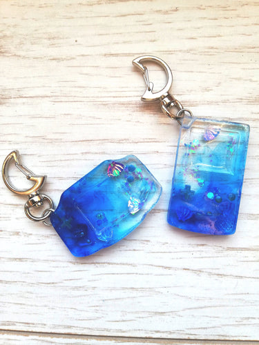 Gameboy water effect retro keychain - Geek And Artsy