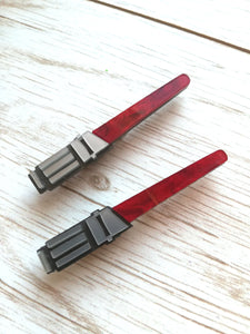 star wars lightsaber pin- red - Geek And Artsy