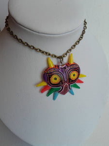 Majora's mask necklace - Geek And Artsy