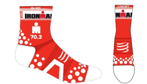 Calcetas Compressport IM ProRacing 3D Dot