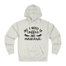 Coffee and Mascara French Terry Hoodie