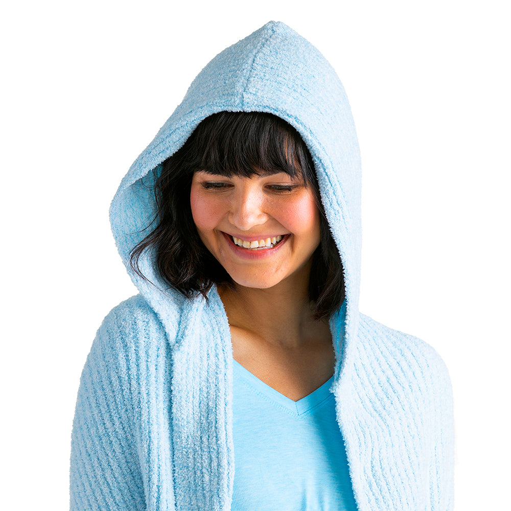Marshmallow Hooded Shawl