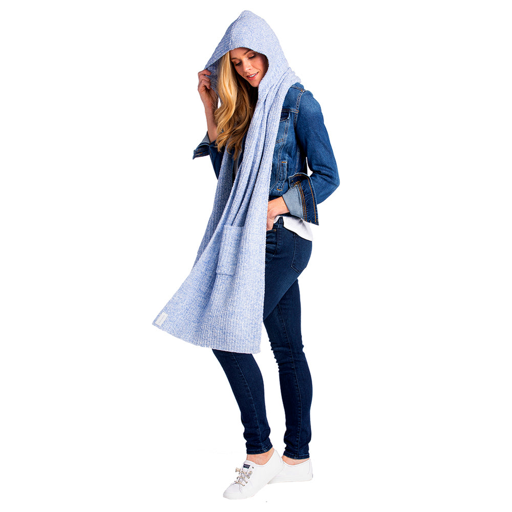 Marshmallow Hooded Scarf