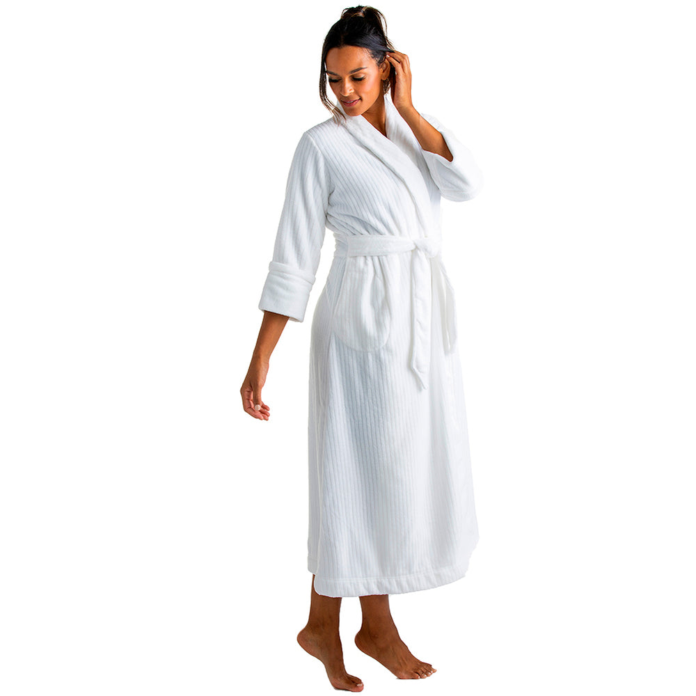 Drop Needle Cloud Fleece Robe