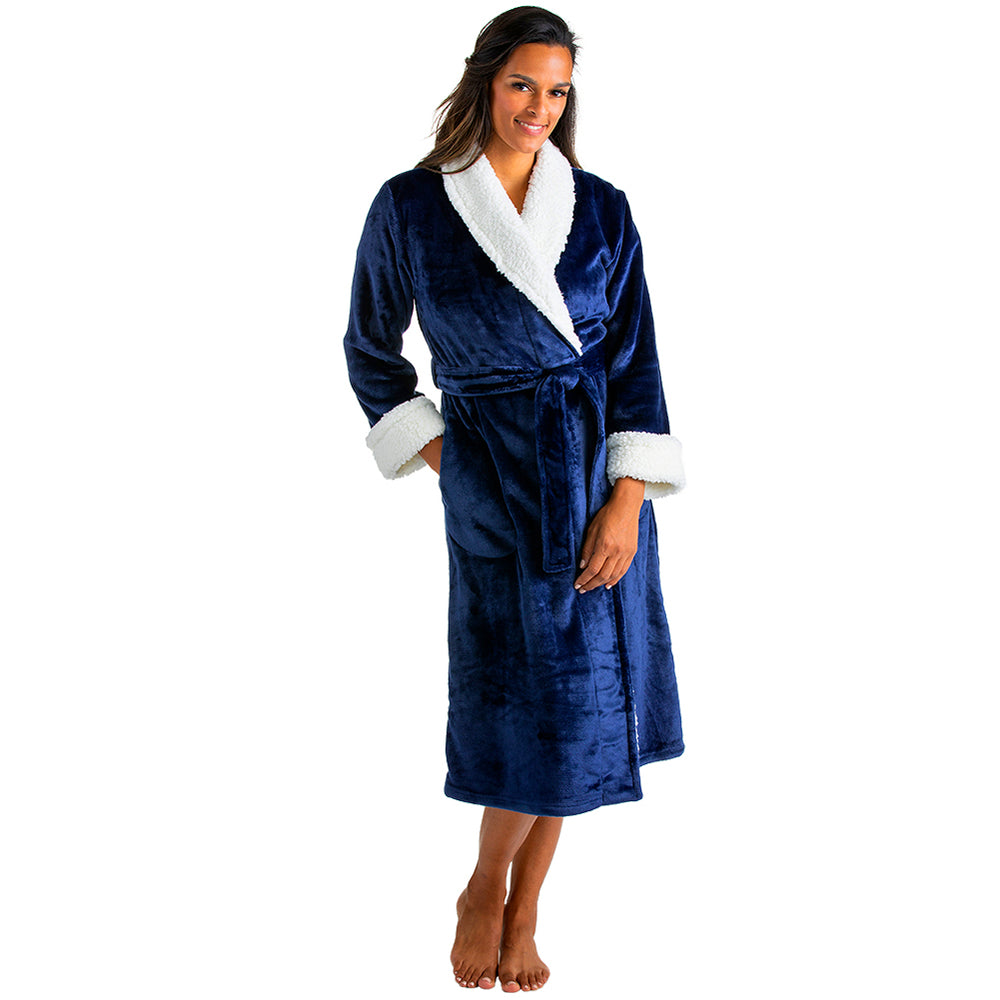 Plush Sherpa Robe