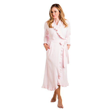 Short Zip Embossed Serenity Robe