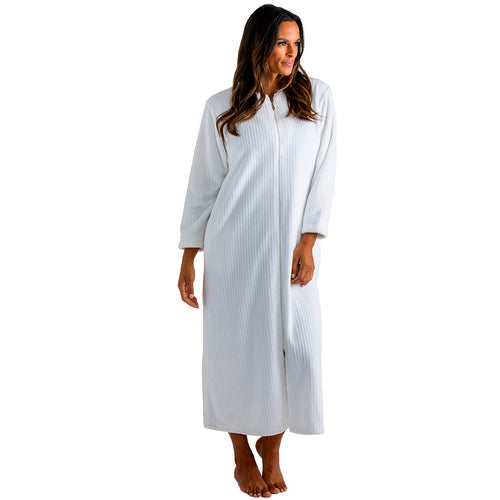 Drop Needle Cloud Fleece Zip Robe