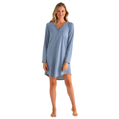 Kit - Raglan Long Sleeve Night Shirt