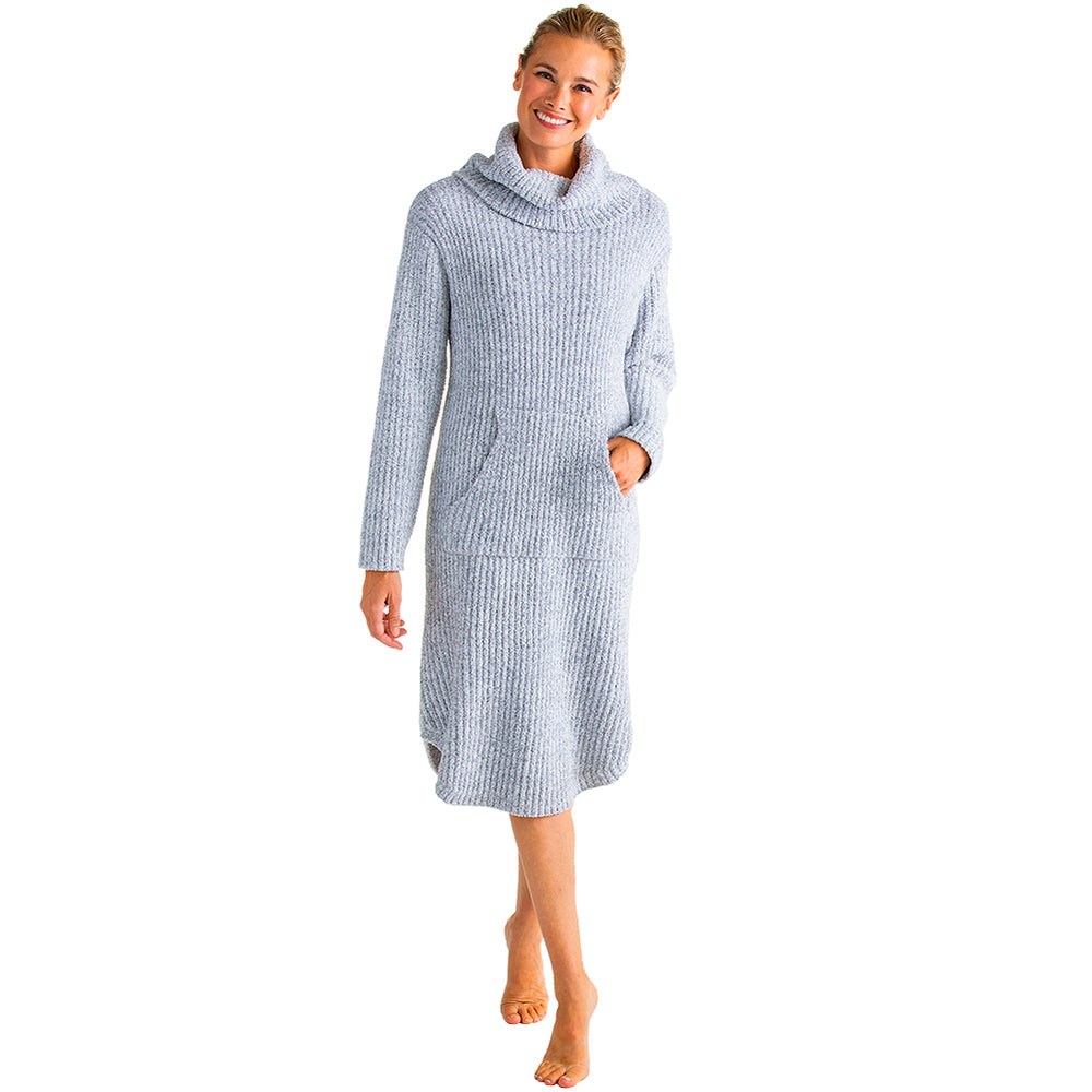 Marshmallow Slouch Turtleneck Lounger