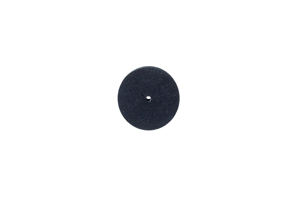"Silicone Square Edge Wheel, 7/8"" x 1/8"", Black, 220 Grit, Box of 1, Item No. 10.1375/C"