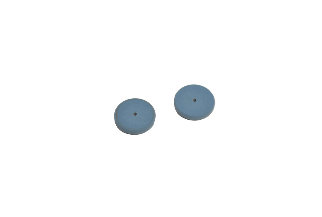 "Pumice Wheels, Square Edge, 7/8"" x 1/8"", Item No. 11.453"