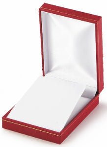 Classic Leatherette-look Large Pendant boxes Box of 24