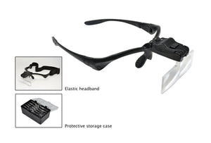 LED Magnifier with 5 Lenses, Item No. 29.559