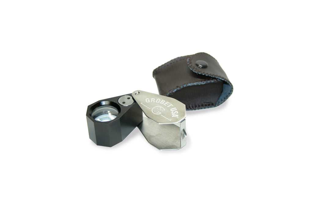 10X Illuminated Jewelers' UV and LED All-In-One Loupe, Item No. 29.615