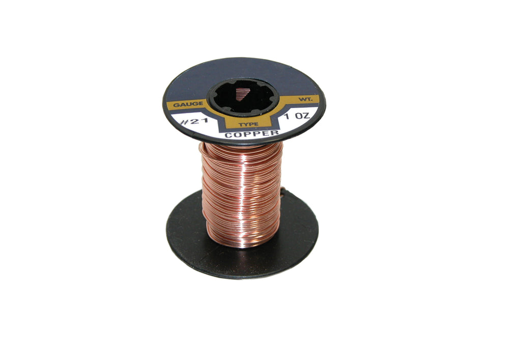 Wire-Copper Binding 21Ga 1 Oz, Item No. 43.563